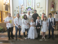 2019 First Communion and RCIA students
